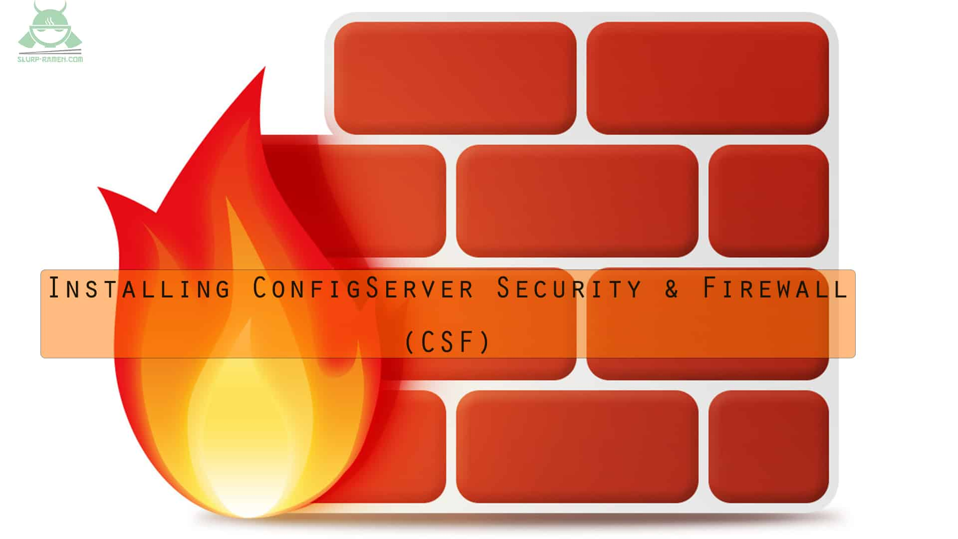 ConfigServer Security & Firewall (csf) installation